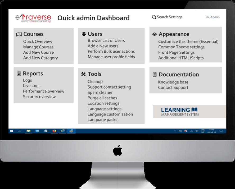 Bokamoso learning management system