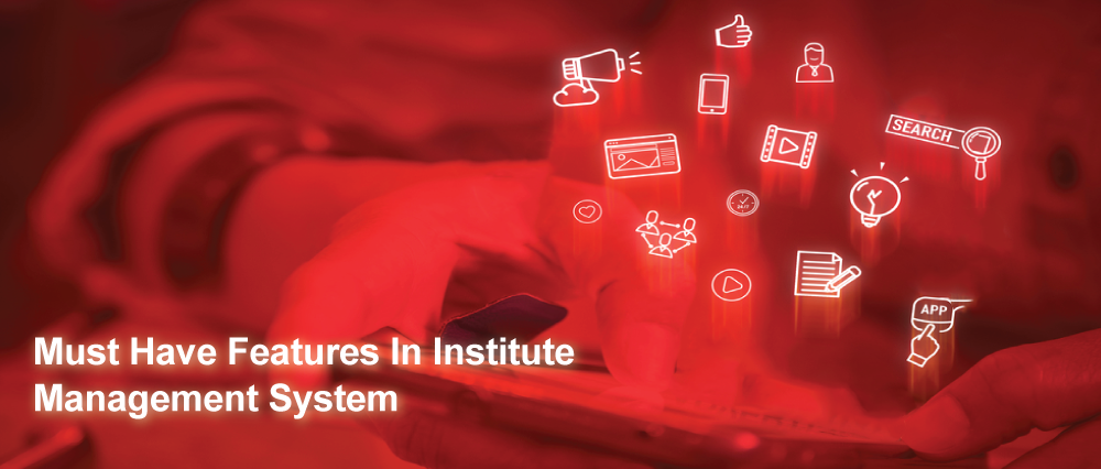 Features In Institute Management System